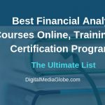 Best Financial Analyst Courses Online, Training Programs and Certification