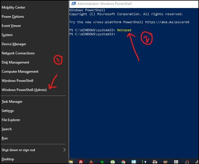 Open Notepad with Windows Powershell - 6 - DigitalMediaGlobe