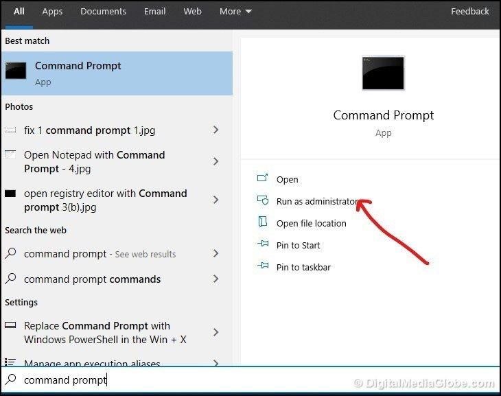 fix 1 command prompt 1