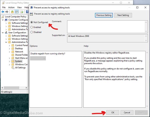 fix 3 - unable-to-access-regedit-windows 2