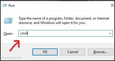 open registry editor with Command prompt 3(a)