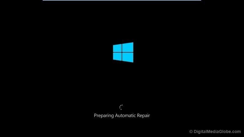 Preparing Automatic repair Launch Windows 10 in Safe mode