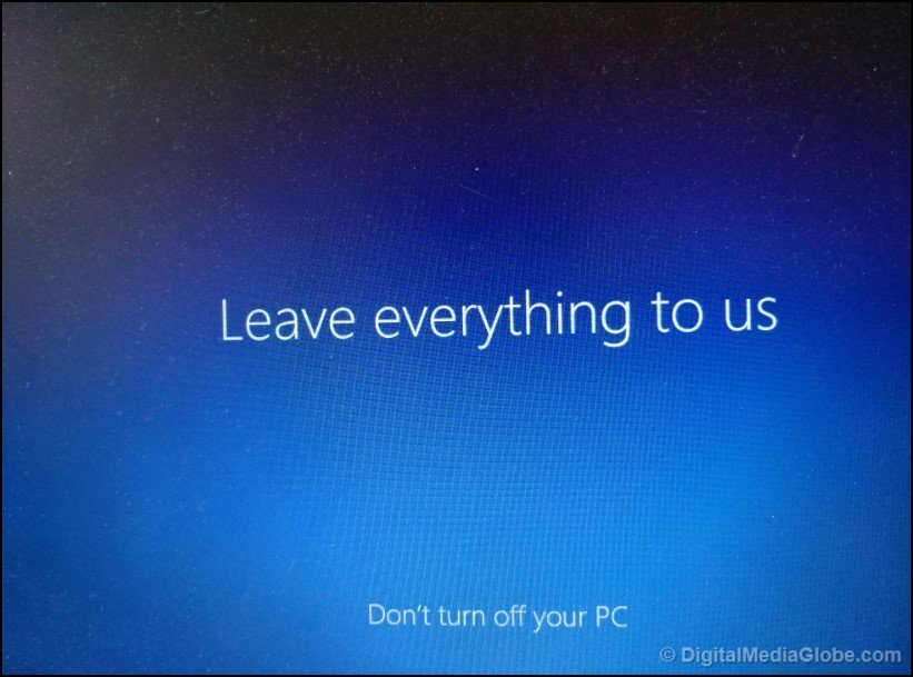 Leave Everything to us add Microsoft account