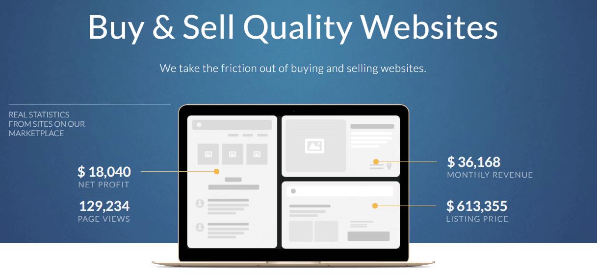 Make money by selling websites Digital Media Globe