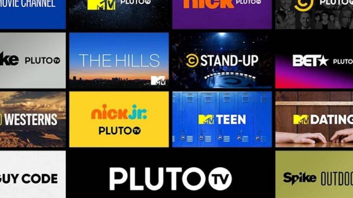 Pluto TV free movie apps online