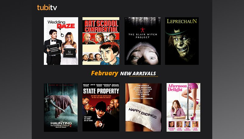 TubiTV app free movie app