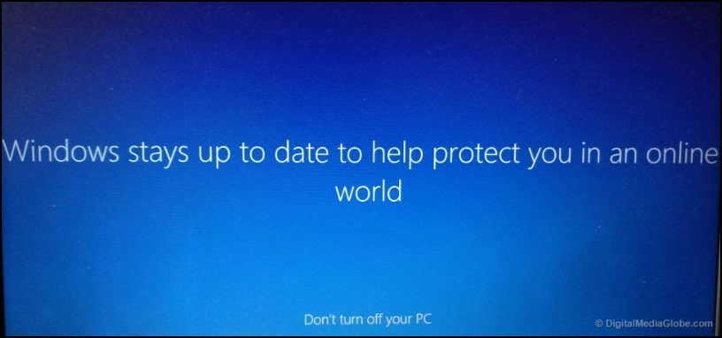 Windows stay upto date add microsoft account