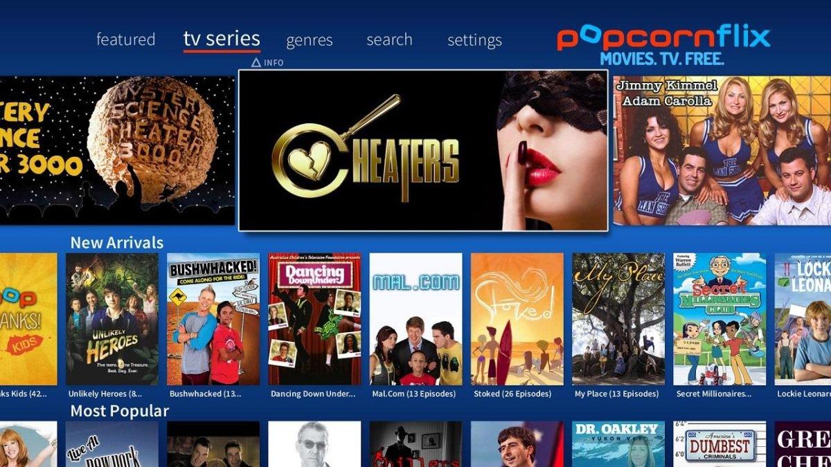 popcornflix free live streaming movie app