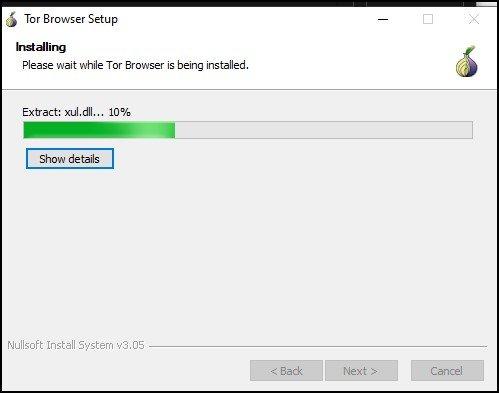 Installing Tor Browser