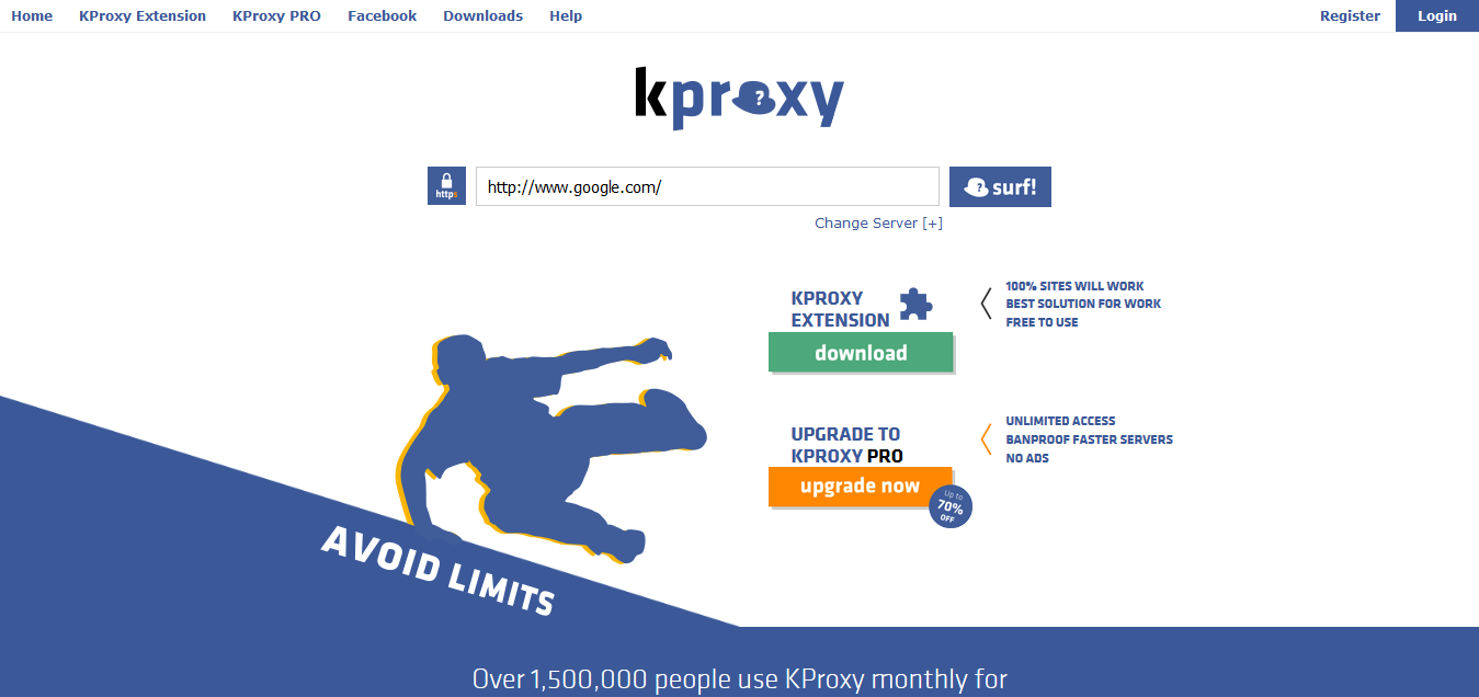 KPROXY Free Anonymous Web Proxy Anonymous Proxy