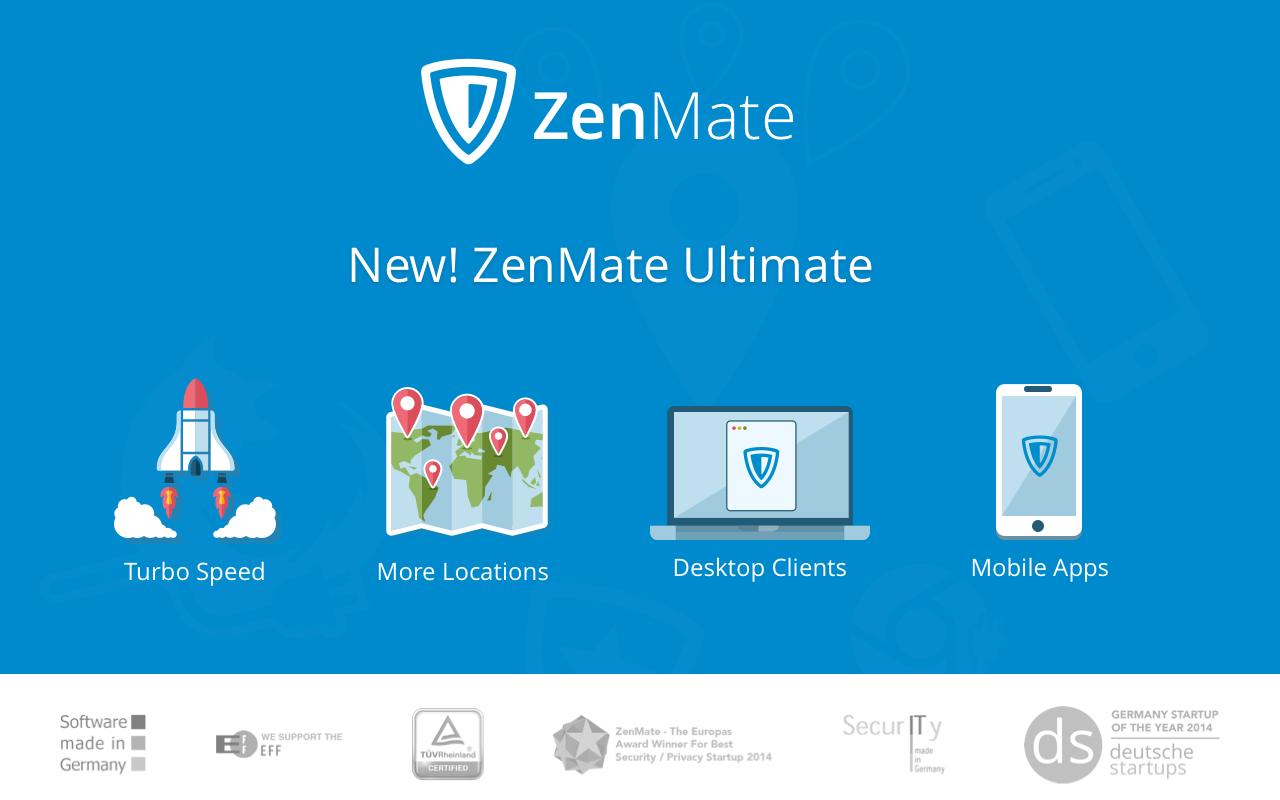 ZenMate 1 DigitalMediaGlobe