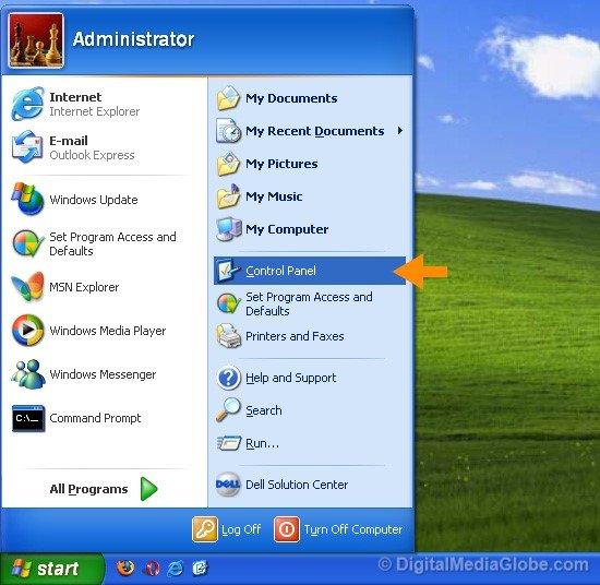 Windows XP Settings 32 bit or 64 Bit