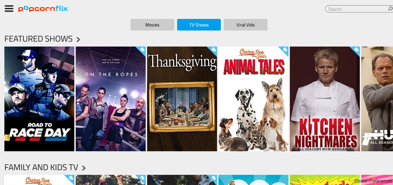 TV Shows Watch Free Movies TV Shows Online Popcornflix