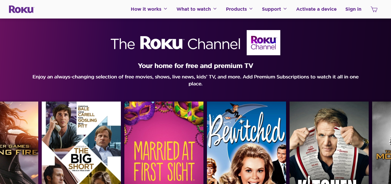 The Roku Channel What s On Roku