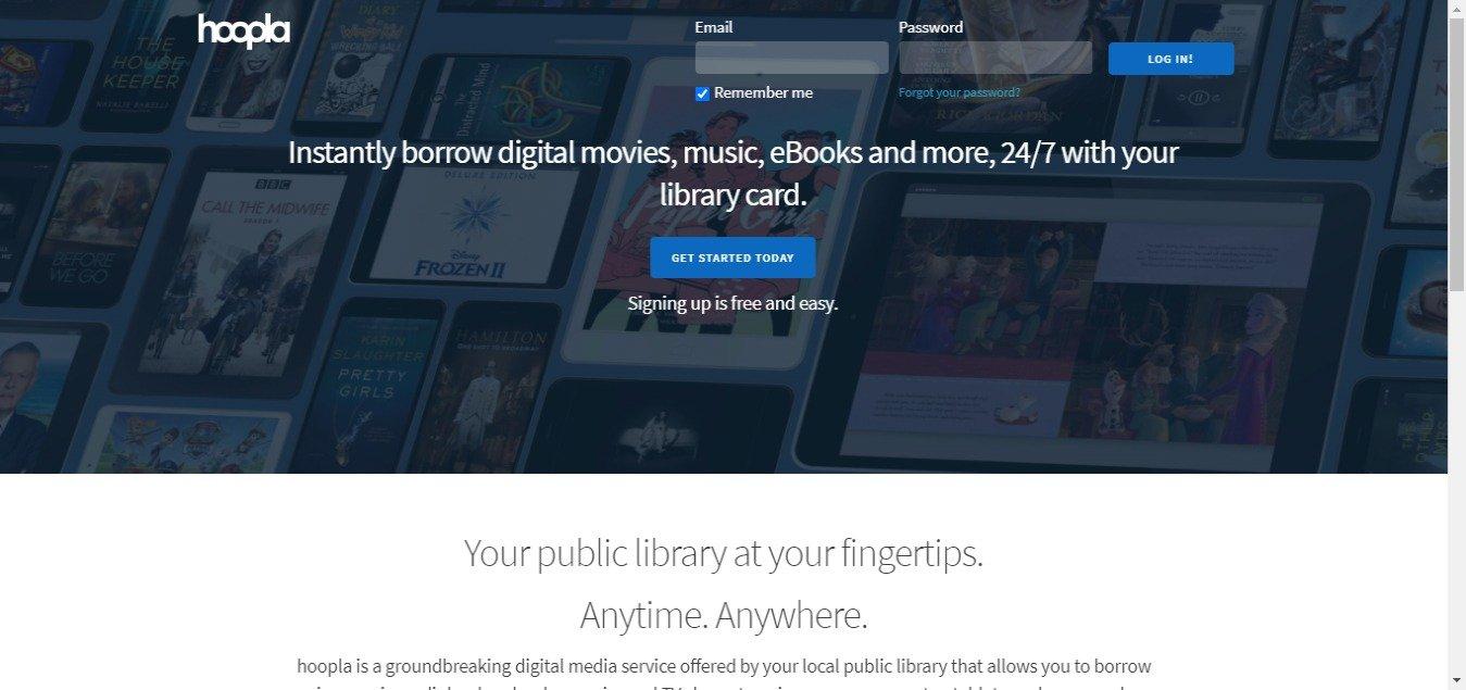 hoopla streaming audiobooks music video ebooks