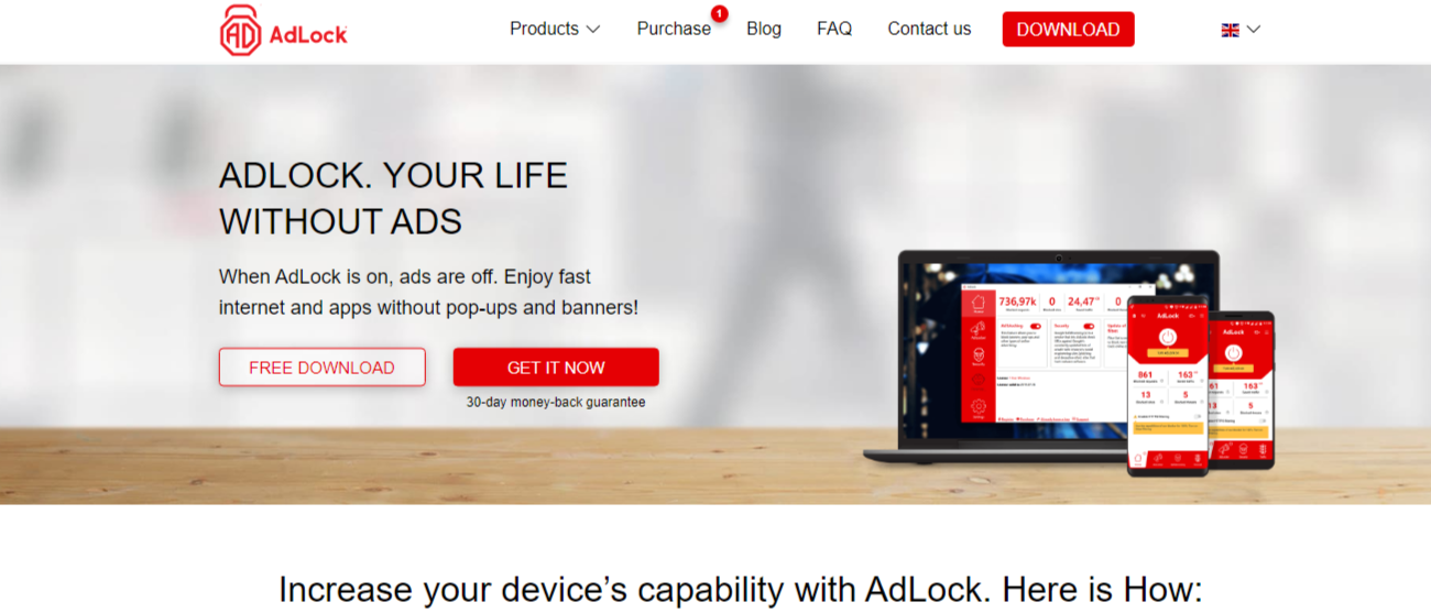 adlock com Ad blocker