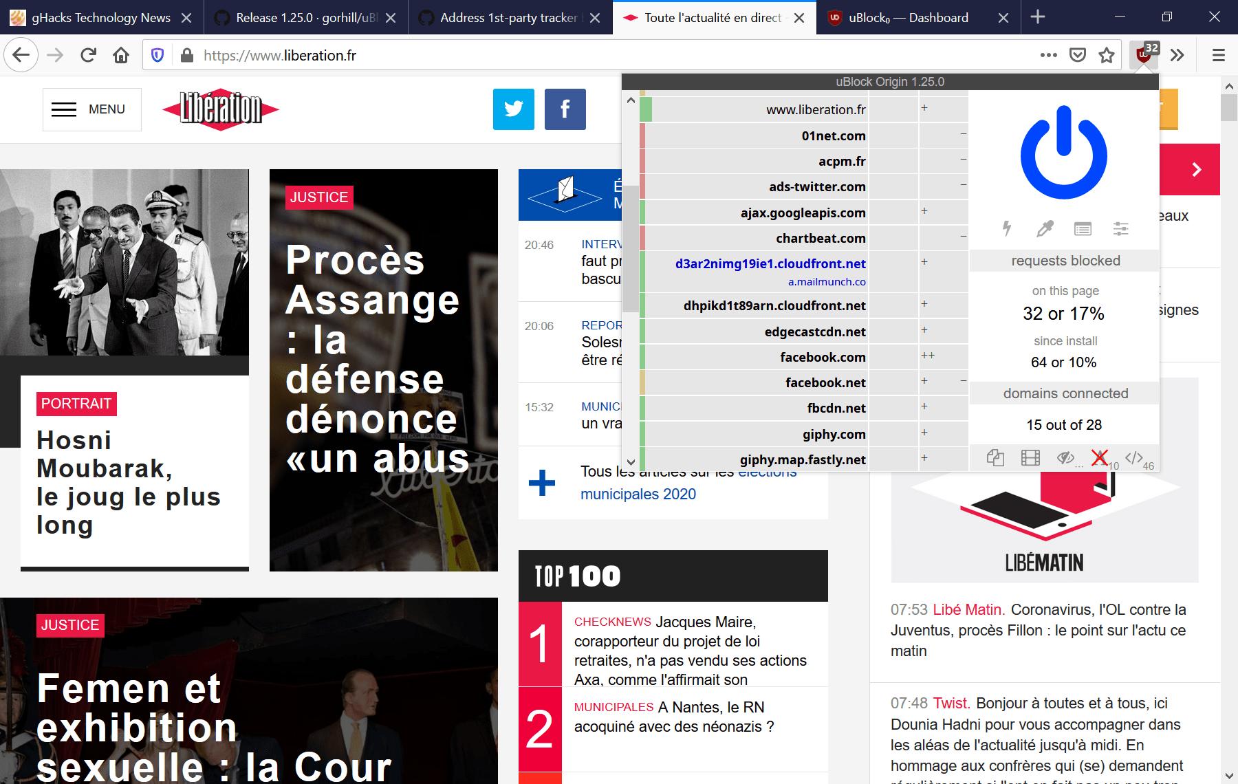 ublock origin firefox chrome ad blocker