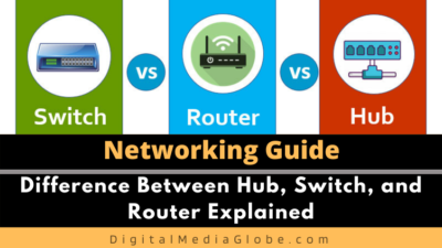 Difference Between Hub, Switch, and Router Explained