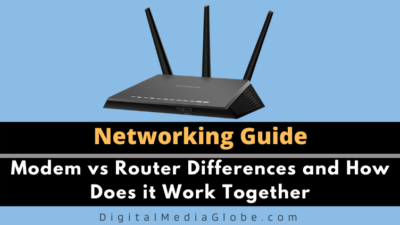 Modem vs Router Differences and How Does it Work Together
