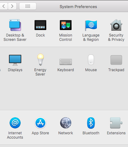 System preferences and then network MAC OS