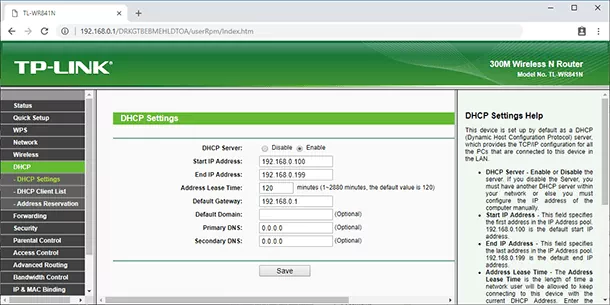LAN to WAN IP range in the secondary router