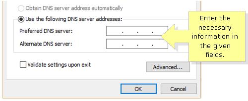 Windows 10 DNS server
