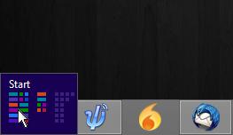 Windows 8 small image screen