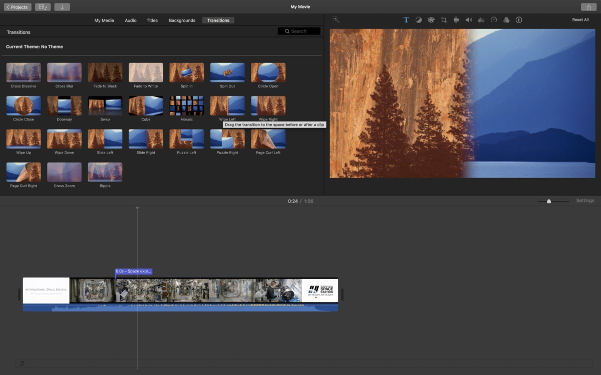 imovie Xvid video editor