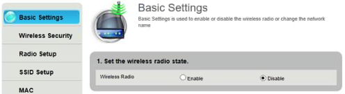 Century link ZyXEL basic settings