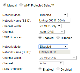 Disable Linksys router from classic web interface