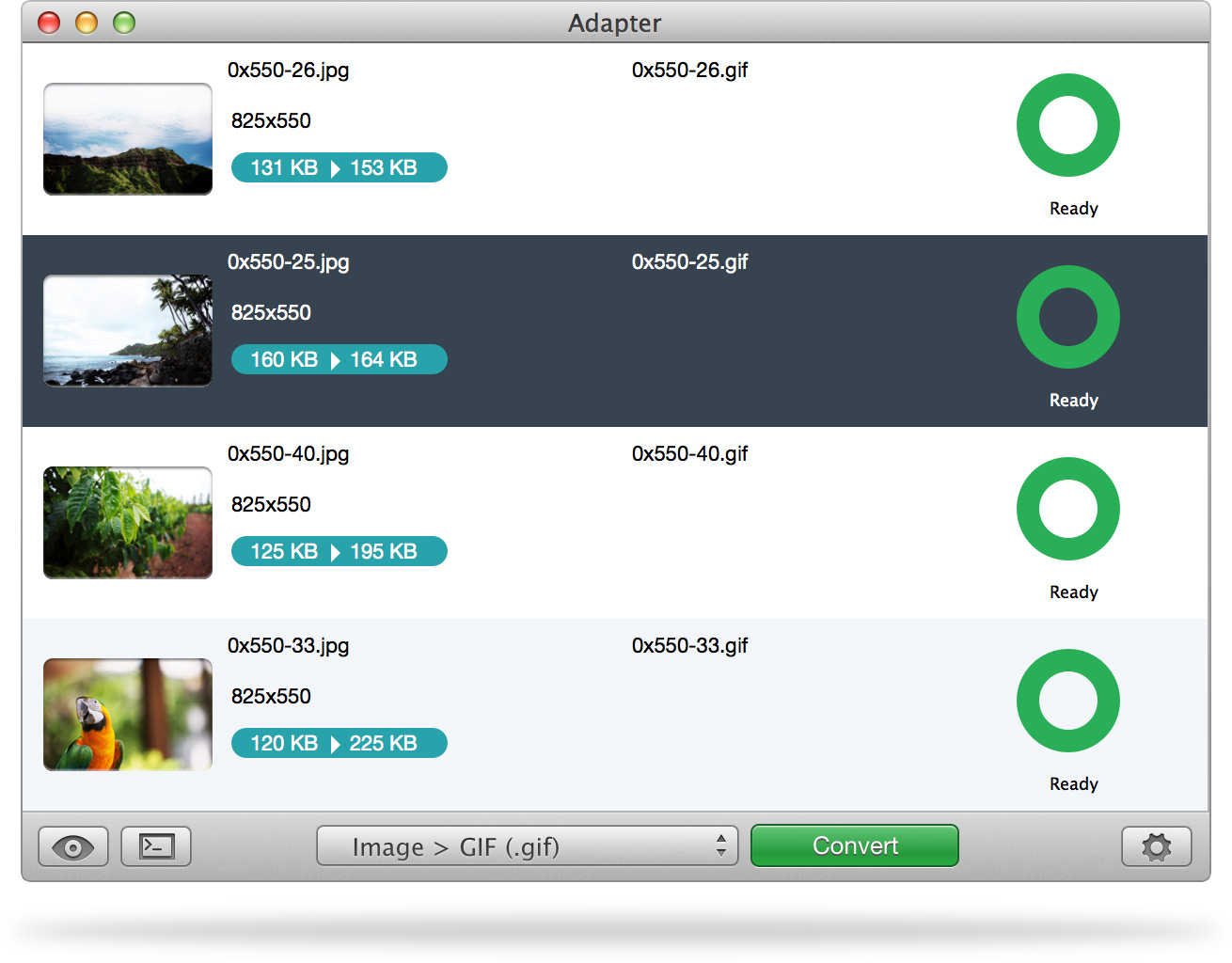 Adapter image converter software DigitalMediaGlobe