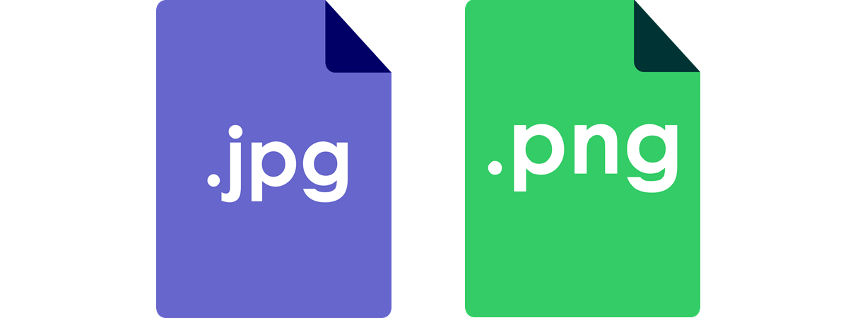 Difference in jpg and png file