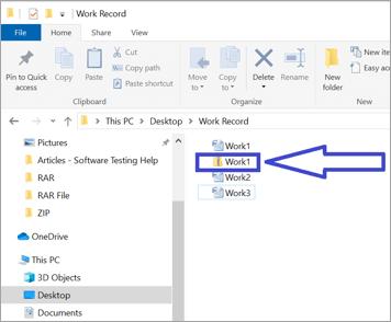 Open ZIP files Windows 1