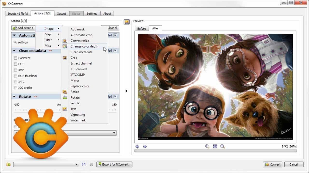 XnConvert software program DigitalMediaGlobe